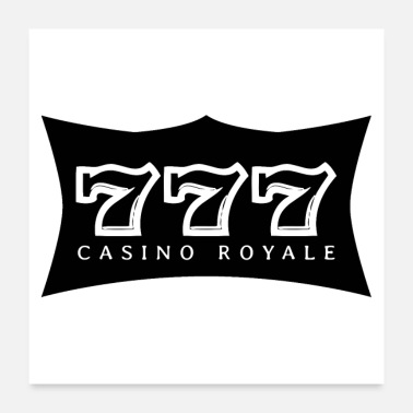 Holdem 777 CASINO ROYALE (poster) - Poster 60x60 cm