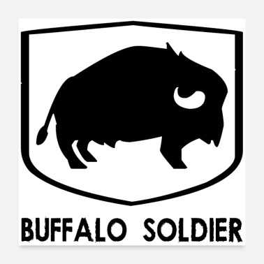 Afro BUFFALO SOLDIER (poster) - Poster