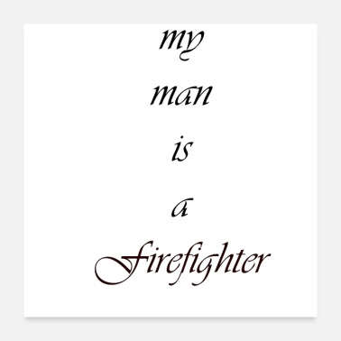 Light My man - Poster 24 x 24 (60x60 cm)
