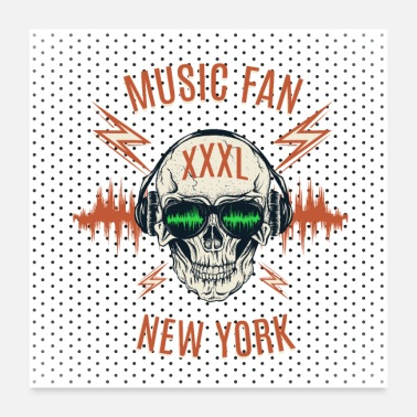 Fan Music Fan New York - Poster