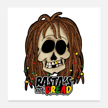 Dub RASTA'S NOT DREAD! REGGAE - Juliste