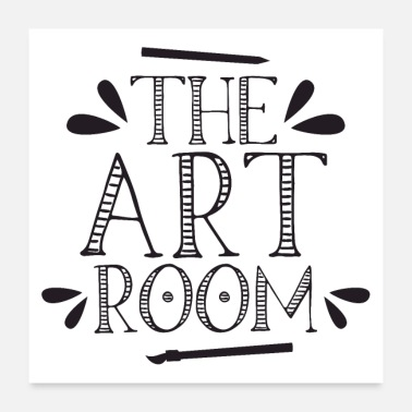 Thesis The art room - Poster