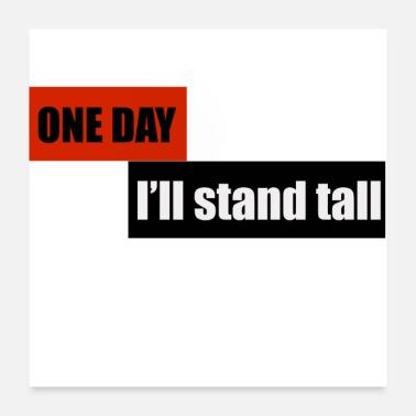 Cupid ONE DAY, I'LL STAND TALL - Poster
