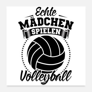 Volleyball Shoes Volleyball Volleyball player girls team gifts - Poster