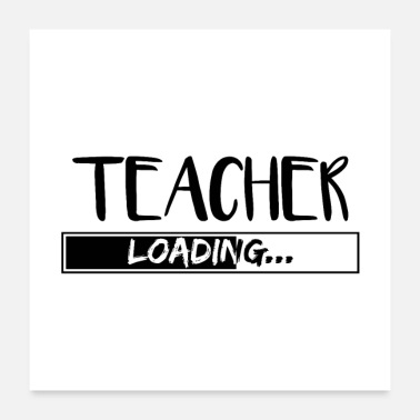 Vocational School Teacher Teacher teacher Profession school teacher gifts - Poster