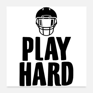 American Football Team American Football | Team player sports gifts - Poster