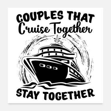 Cruise Ship Cruises | Cruise travel summer gifts - Poster