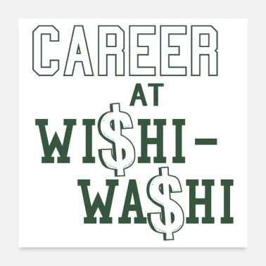 Career Career at Wishi Washi Funny Gift Exchange - Poster