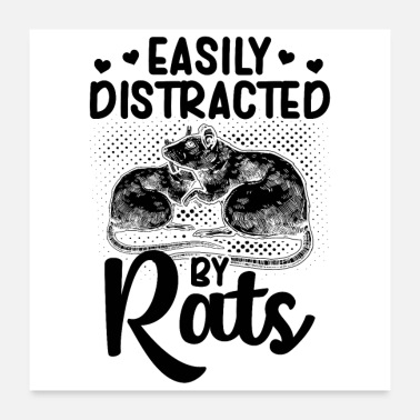 Rodent Rats pets | Rodents pet gift idea - Poster