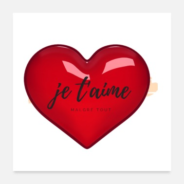 Aime Moi je t aime - Poster