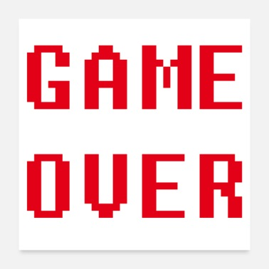 Program-what-you-do Game over - Poster