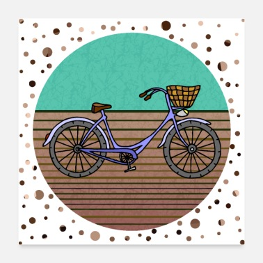 Hiking Bike - Poster
