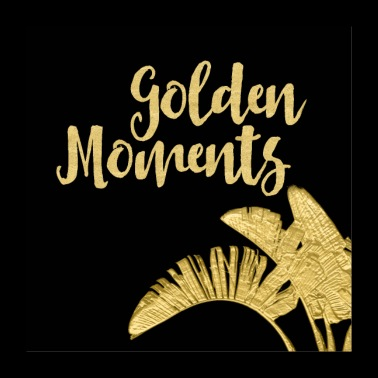 Golden Moments - Poster 60x60 cm
