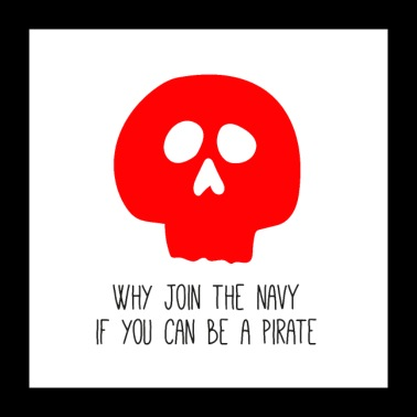 WHY JOIN THE NAVY - Poster 24 x 24 (60x60 cm)