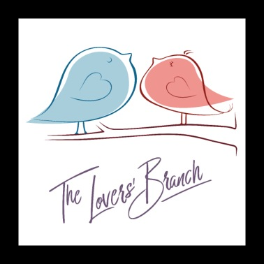 The Love branch - Poster - Poster 24 x 24 (60x60 cm)
