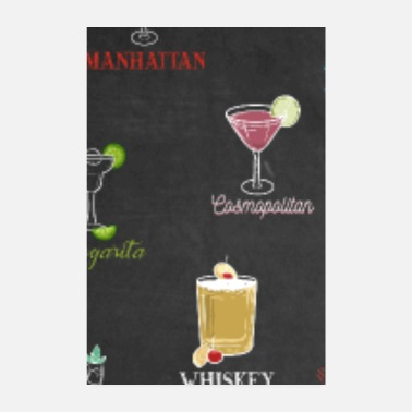 Cocktail Cocktails Around The World Drinks Barkeeper Bar - Poster