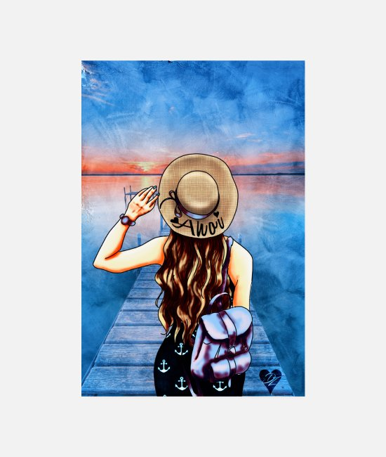 Coast Posters - Lake Ahoy | Yolo Artwork - Posters white
