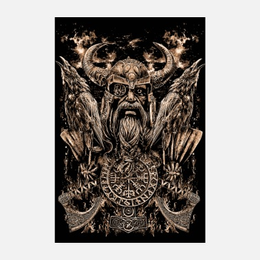 Kirves ODIN PORTRAIT - Juliste