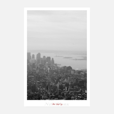 Schwarz New York City (Poster) - Poster