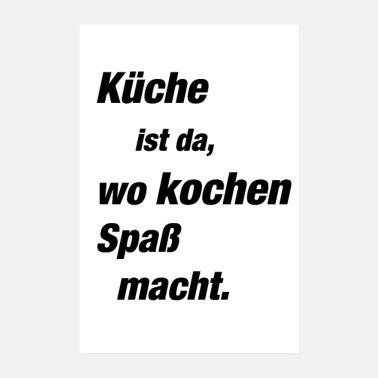 Suchbegriff: \'Küche\' Poster online bestellen | Spreadshirt