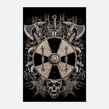 Viking VIKING SHIELD - Poster