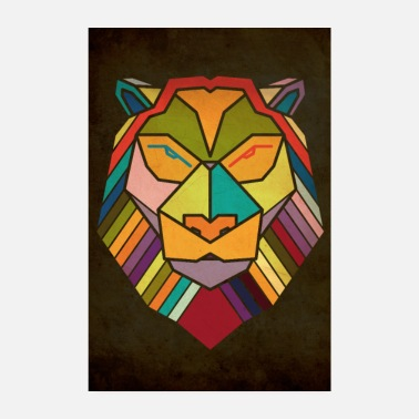 Save lion - Poster 8 x 12