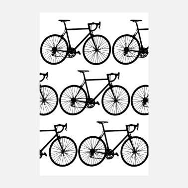 Mountain Bike Bikes - Poster 8 x 12