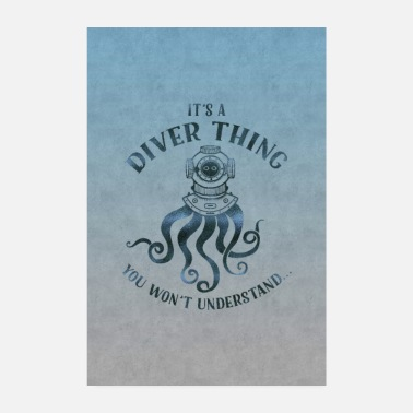 Recreational Diver thing - Poster