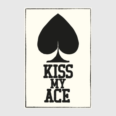 Poker Kiss My Ace Póster - Póster 20x30 cm