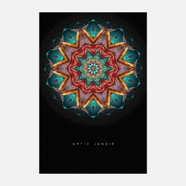 Goa Poster Optic Junkie - Poster 20 x 30 cm