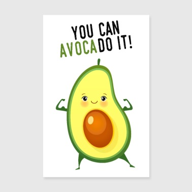 Voit AvocaDo It! - Juliste 20x30 cm