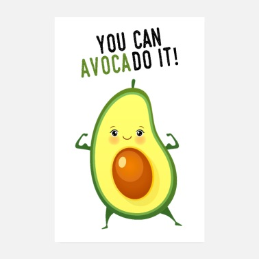 Avokado Voit AvocaDo It! - Juliste 20x30 cm