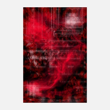 Graphic Art Digital Art - Rote Zone - Poster 20x30 cm