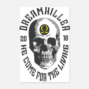Record dreamkiller skull records - Poster 8 x 12