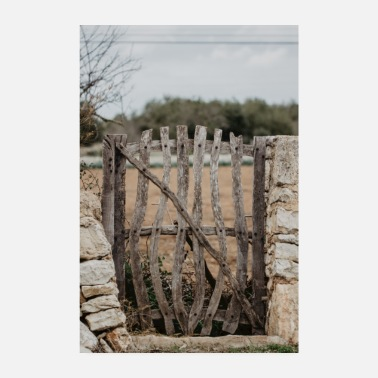 Fencing Mallorca fence village - Poster