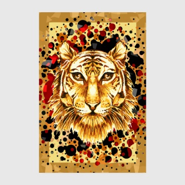Brave as a tiger - Poster 8 x 12