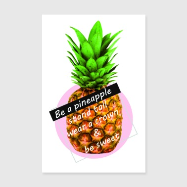 ananas - Poster 20x30 cm