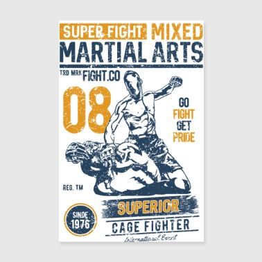 MARTIAL ARTS SPORT - Martial Arts Gifts Shirts - Poster 8 x 12