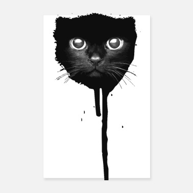 Sprayer Spray Paint Katze - Poster