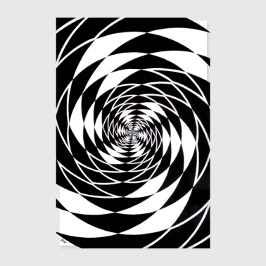 double spiral - Poster 8 x 12