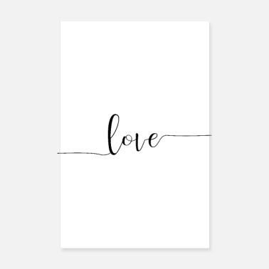 Love love love heart feelings - Poster 8 x 12