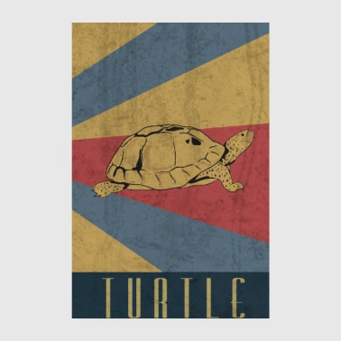 Turtle sea turtle seafood gift - Poster 8 x 12