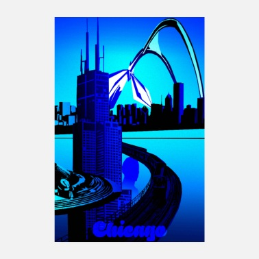 Chicago Diseño de Chicago! - Póster