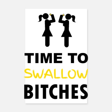 Nubile Time To Swallow Bites (Scatti) - Poster 20x30 cm