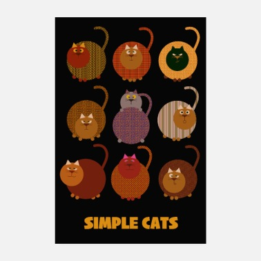 Simple Des chats simples - Poster