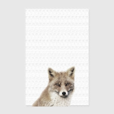 Fox-poster - Poster 20x30 cm