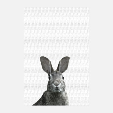 Popular Hare poster - Poster 8 x 12