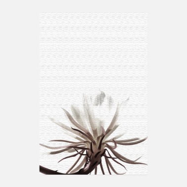 Eco flower - Poster 8 x 12