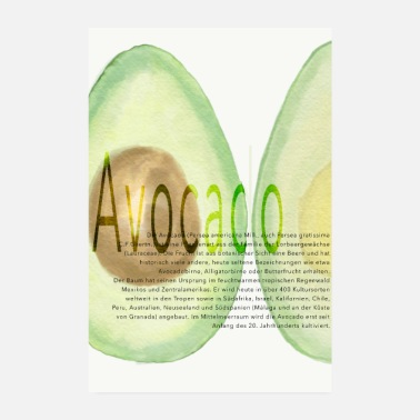 Meal avocado - Poster 8 x 12