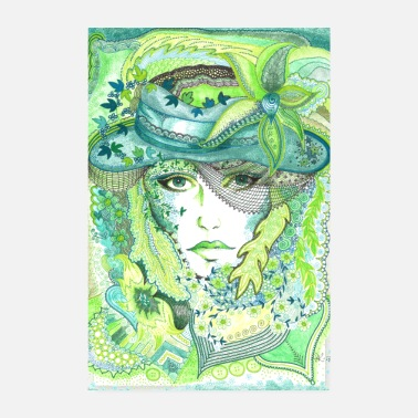 Tante Affiche Tant Vert - Poster 20 x 30 cm